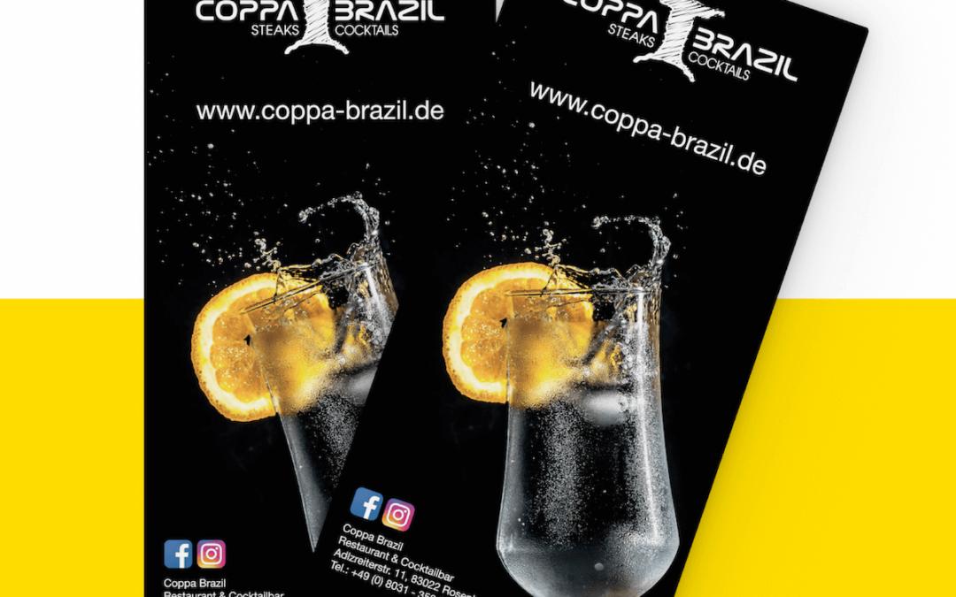 Neue Plakate für das Coppa Brazil in Rosenheim