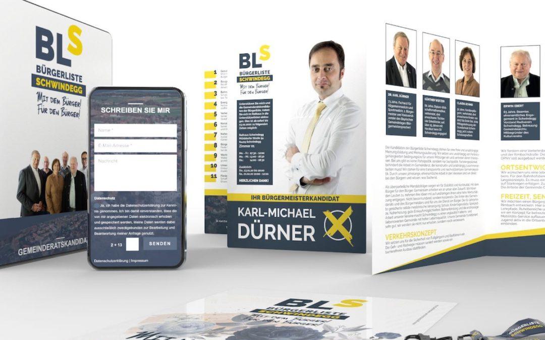 Bürgermeisterkandidat Karl-Michael Dürner – Newcomer bei den Kommunalwahlen 2020