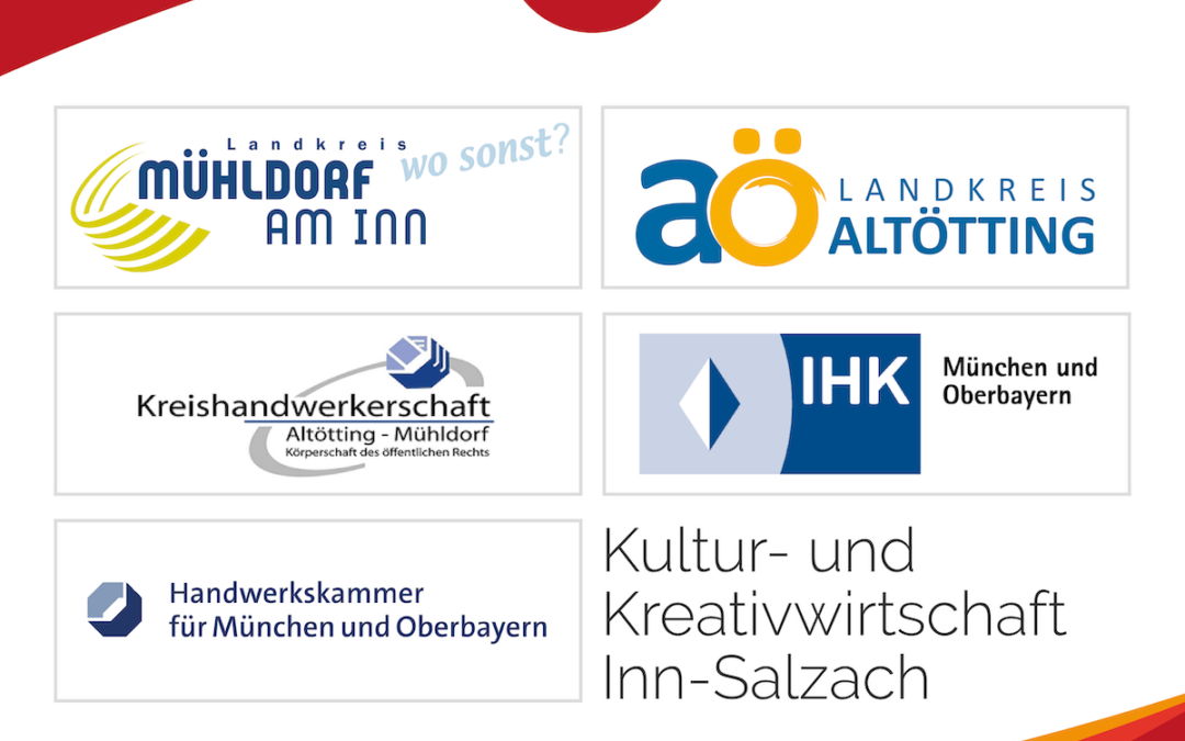 CI, Logo und Website für die Kultur- und Kreativwirtschaft der Landkreise Altötting und Mühldorf am Inn