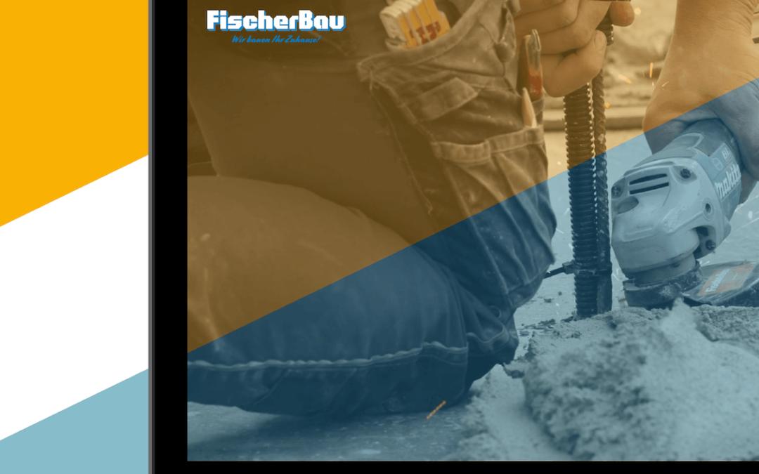 Fertigstellung von Imagefilm, Fotos und Stellenanzeigen für die FischerBau GmbH & Co. KG