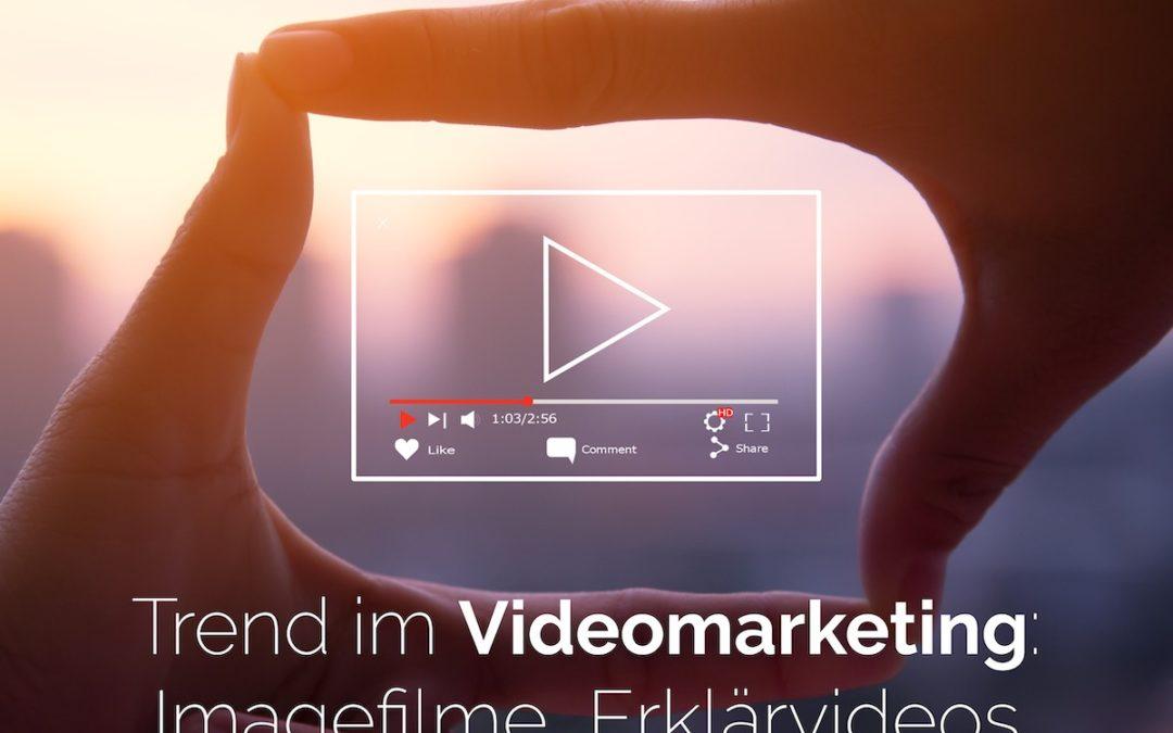 Imagefilme, Erklärvideos und Animationen als Trend im Videomarketing