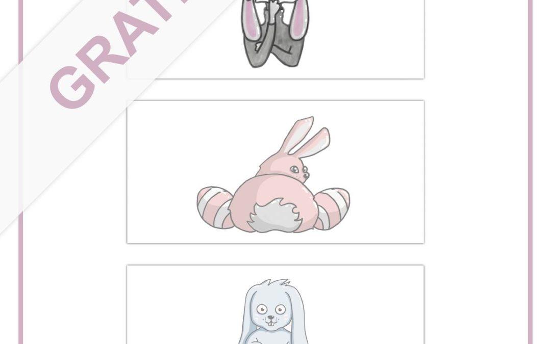 Kostenlose Grafiken für Ihre Ostergrüße (handgezeichnet)