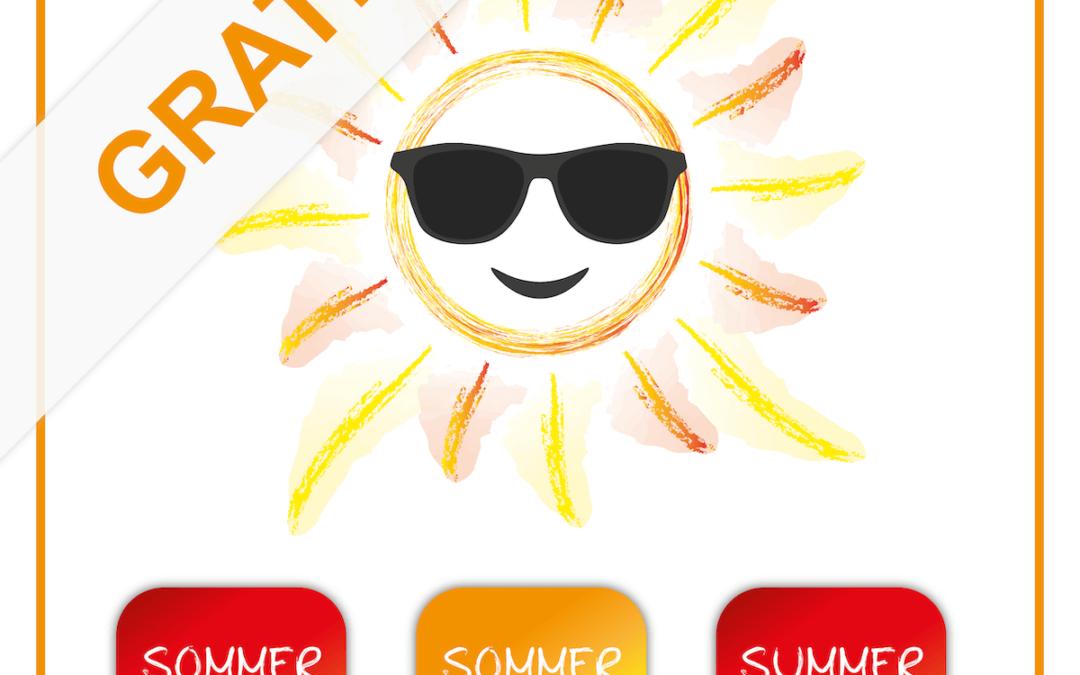 Kostenlose Grafiken für Ihre Sommer-Aktion