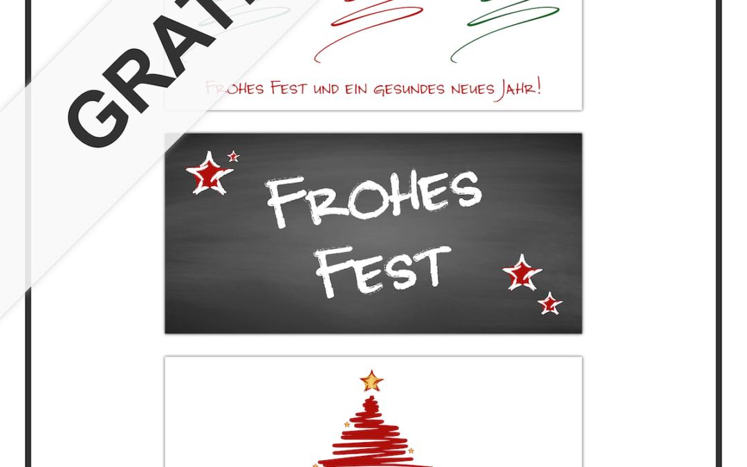 Kostenlose Grafiken für Ihre Weihnachtswünsche