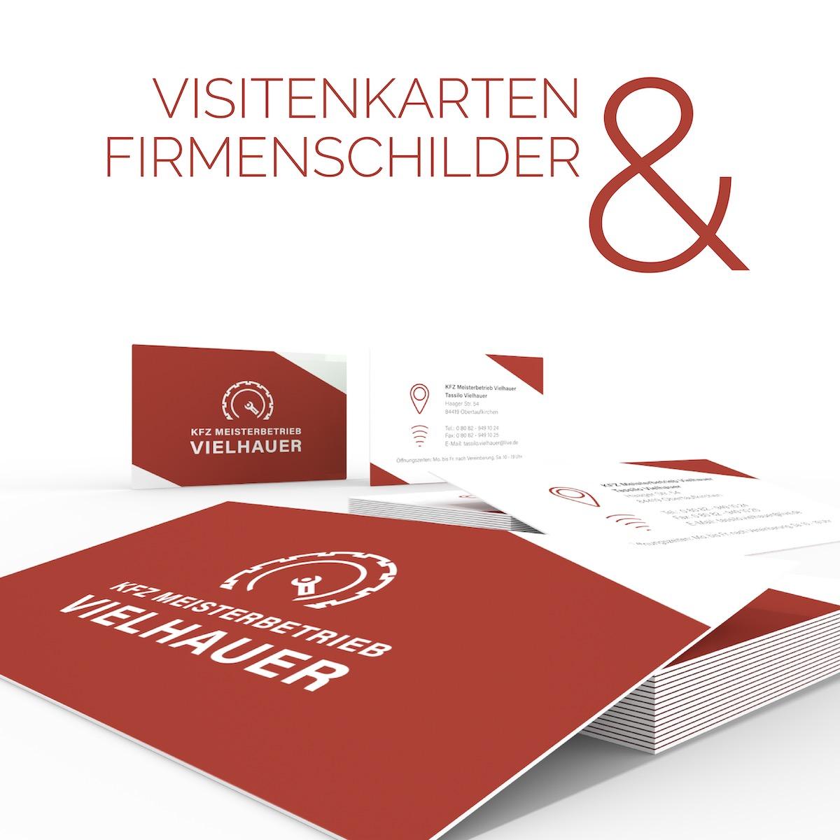 geschmacksRaum_WERBEAGENTUR_Logo_Firmenschild_Fahrzeugbeschriftung_und_Visitenkarten_fuer_Tassilo_Vielhauers_KFZ-Meisterbetrieb_B-f