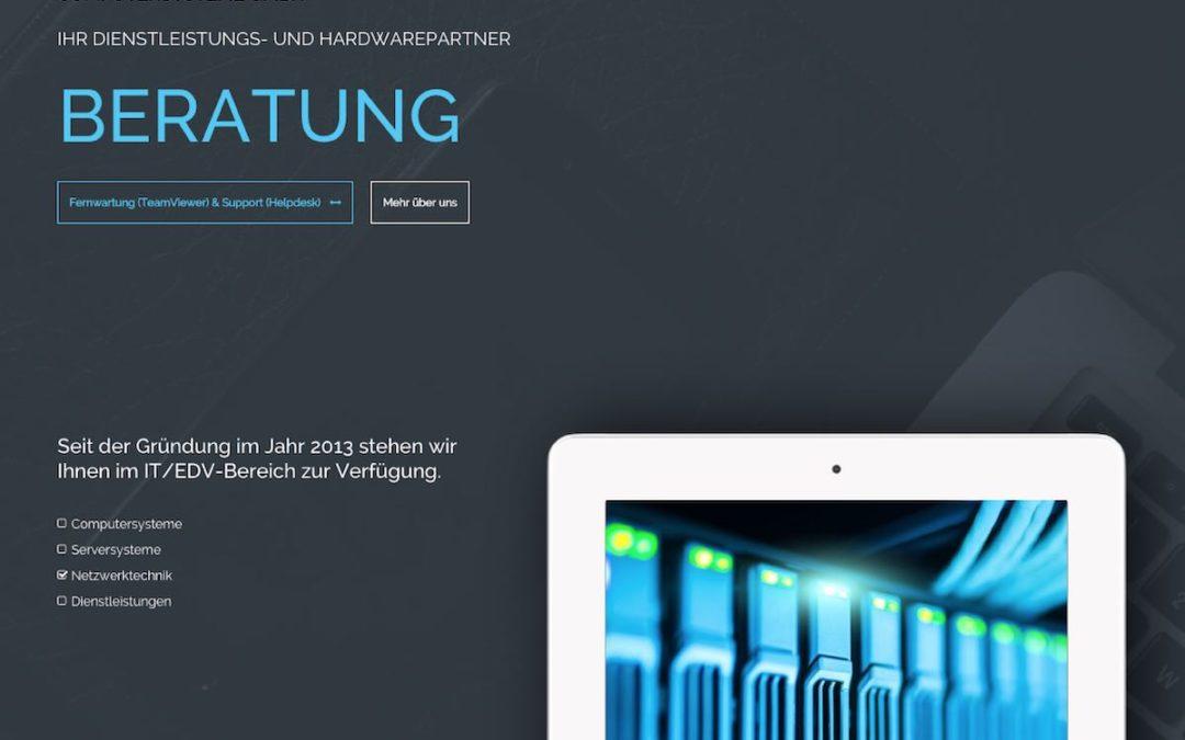 Neue Website in Responsive Webdesign für die ITLH Computersysteme GmbH