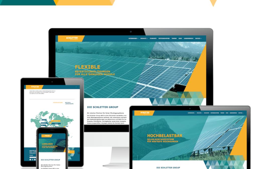 SCHLETTER Group: Erfolgreicher Relaunch der zweisprachigen Website unter WordPress